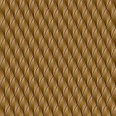 Brown Reptile Skin — Stock Vector