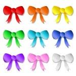 Rainbow Ribbons — Stock Vector #40329325