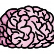 Stock Vector: Brain Icon