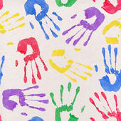 Handprint Background — Stock Photo