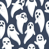 Fondo de fantasma de halloween — Vector de stock