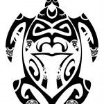 Maori turtle — Stock Vector #23449230