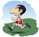 Běžící muž — Stock vektor