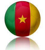 Cameroon flag ball — Stock Photo