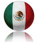Mexico flag ball — Stock Photo