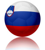 Slovenia flag ball — Stock Photo
