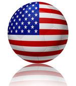 United States flag ball — Stock Photo