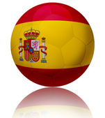 Spain flag ball — Stock Photo