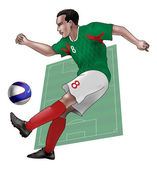 Team Mexico — Stock Photo