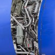 Stock Photo: Internal of aircraft engine