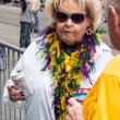 Mardi Gras onlooker — Stock Photo