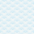 Abstract blue seamless pattern — Stok Vektör