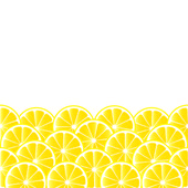 Background with lemon — Stock Vector
