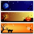 banderas de Halloween — Vector de stock  #29939031