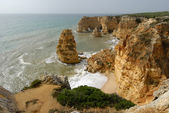 Marinha Beach in Algarve — Stock Photo
