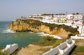 Carvoeiro beach in Algarve — Stock Photo