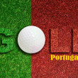 Golf in Portugal - Stock Photo