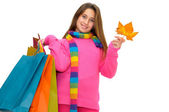Shopping fun — Stock Photo