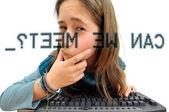 Internet hazard — Stock Photo