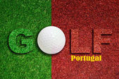 Golf in Portugal — Stock Photo