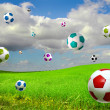 Royalty-Free Stock Photo: Soccer balls