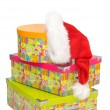 Royalty-Free Stock Photo: Christmas gift boxes