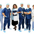 Doctors team — Foto de Stock