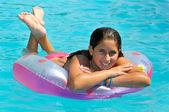 W basenie — Zdjęcie stockowe