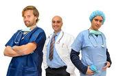 Doctors team — Stock Photo