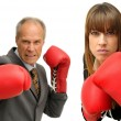 Agressive business — Stock Photo