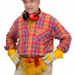 Construction worker - Foto Stock