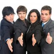 Businessmen team — Stock Photo