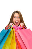 Shopping fun — Stock Photo