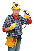 建筑工人 — 图库照片
