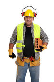 Robotnik — Zdjęcie stockowe