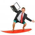 Web surfer — Stock Photo