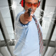 Stock Photo: Shooter
