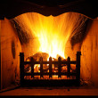 Fireplaces - Stock Photo