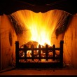 Stock Photo: Fireplaces