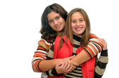 Two beautiful girls — Stock Photo