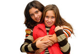 Beautiful young girls — Stock Photo