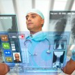Hightech doctor - Stock Photo