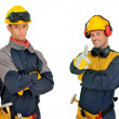 Stock Photo: Workers team