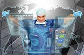 Läkare världen — Stockfoto