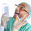 Royalty-Free Stock Photo: Crazy doc