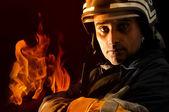 Fireman — Stock Photo