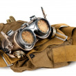Steampunk goggles - Stock Photo