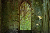 Old Church window — Stock Photo