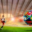 Stock Photo: World cup 2010