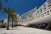 Building on the beach — Stock Photo